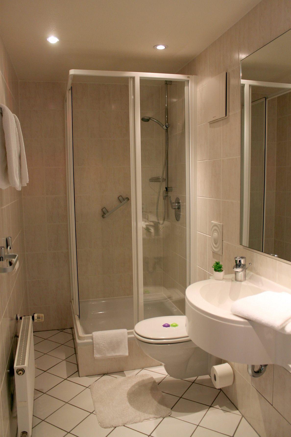 Badezimmer im Parkhotel Bad Sassendorf